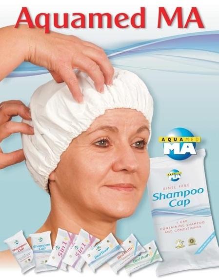 шапка за сухо измиване на глава