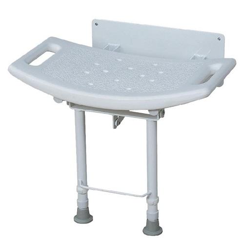 0808678 Стол за баня сгъваем, за стена