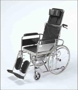 GR105 инвалидна количка с тоалетно легенче