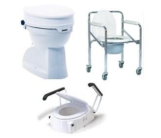 За тоалетни и бани помощни средства