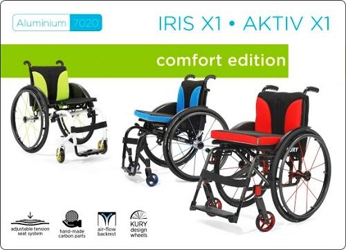 Kury активни инвалидни колички