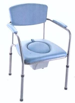 Тапициран комбиниран стол с регулируема височина Invacare