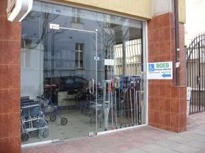 Санитарен магазин на Воев за инвалиди, възрастни хора и хора с увреждания, ул. Шандор Петьофи №1,  Руски паметник-Пирогов