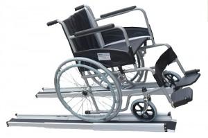 Портативна рампа телескопична за инвалидни колички и скутери 77-210см