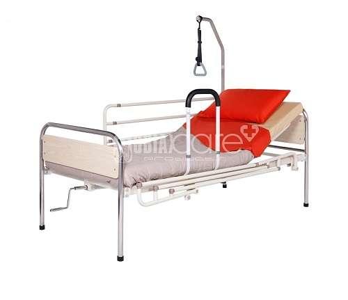 Хоризонтална и вертикална дръжка за легло, предпазни решетки
