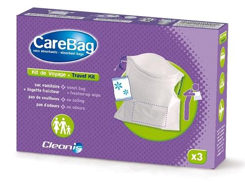 Торбичка за повръщане, плик с абсорбираща вложка