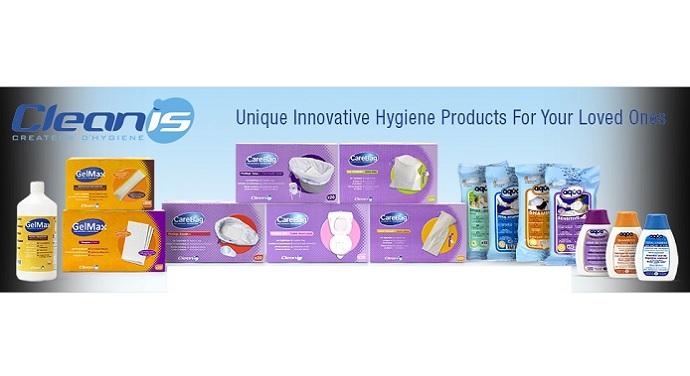 Продуктите на Cleanis Франция за безводно къпане иторбички със суперабсорбатор