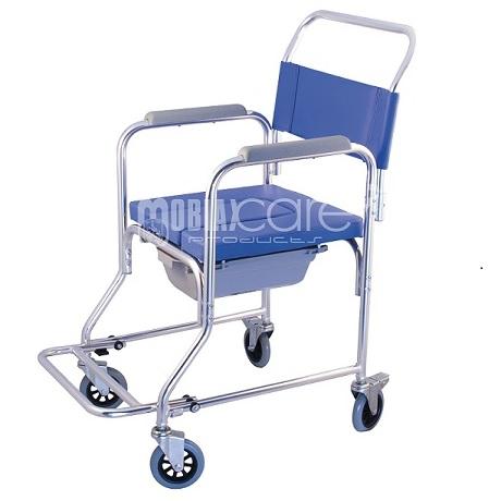 От алуминий тапициран комбиниран стол, лек