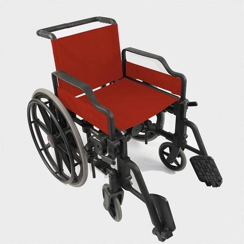 Инвалидна количка напълно от пластмаса 0808570