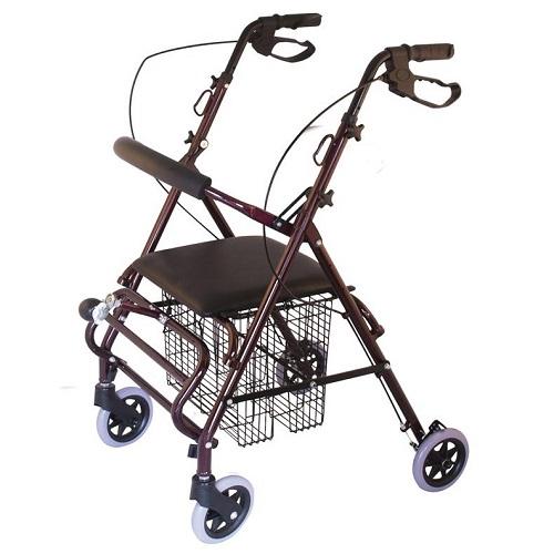 Ролатор количка. Двойно предназначение