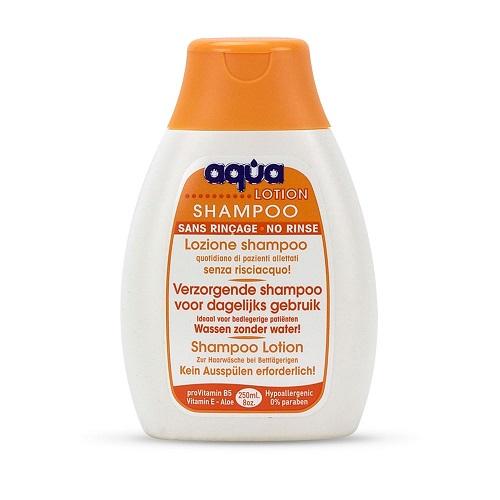 Aqua lotion shampoo