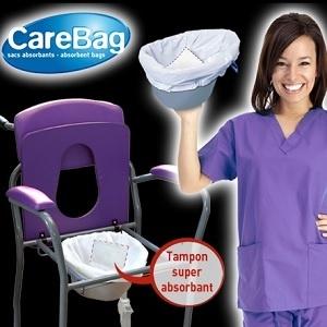 Торбички с абсорбатор за подлога, химическа тоалетна, тоалетен стол