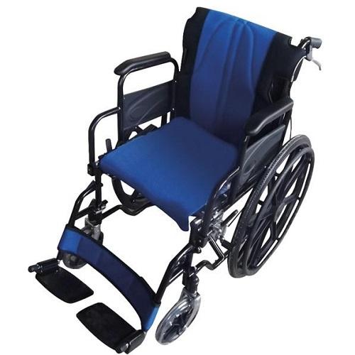 Инвалидна количка с възглавници гръб-седалка