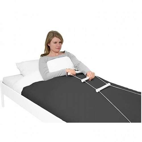 Въжена стълба с ръкохватки за повдигане от легло