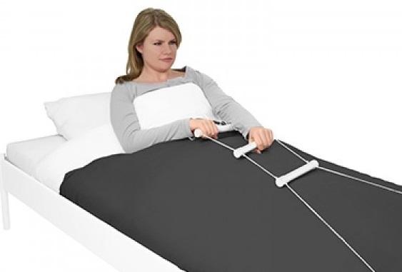 Стълба с ръкохватки за повдигане от легло