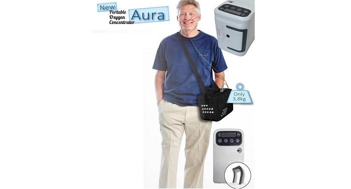 Портативен мобилен кислороден концентратор