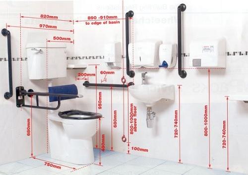 За инвалиди обзавеждане оборудване тоалетна баня