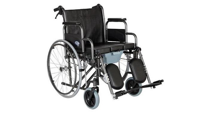 Инвалидна количка 3 в 1, подбедрици, тоалетна