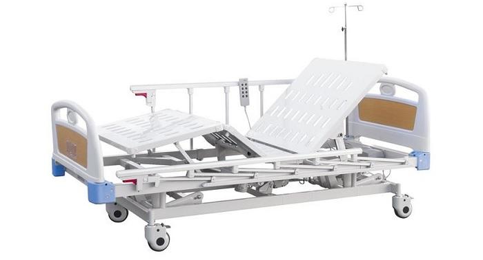 Болнично електрическо легло, стойка за вливане