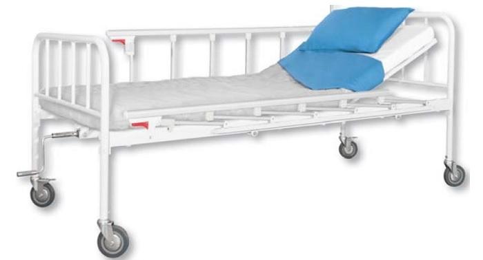 Механично болнично легло на колела