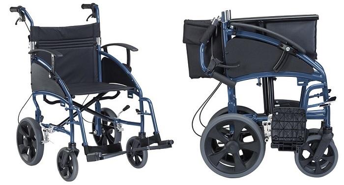 Компактна за транспорт инвалидна количка
