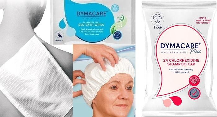 Dymacare® безводно къпане, измиване