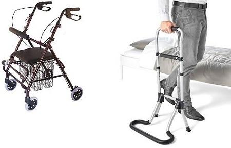 Помощни средства за ходене, придвижване
